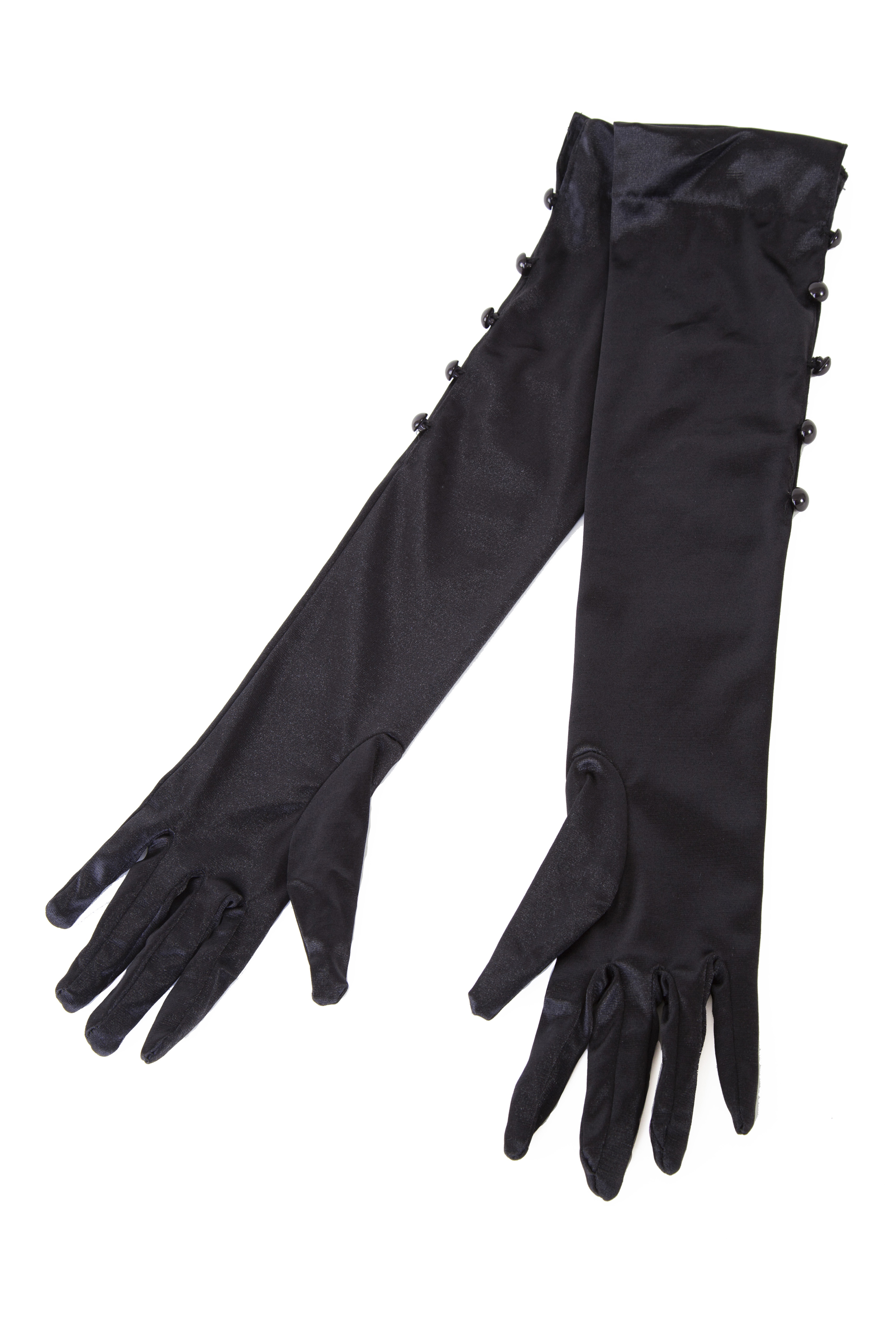 Steampunk Gloves Satin Gloves by Bettie Page $18.00 AT vintagedancer.com