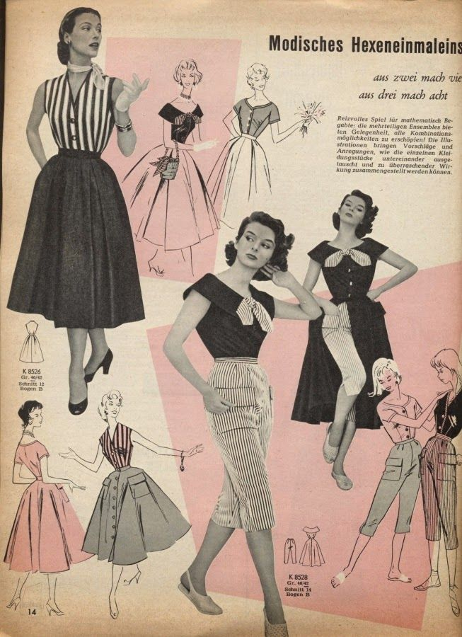 1955 Playsuits