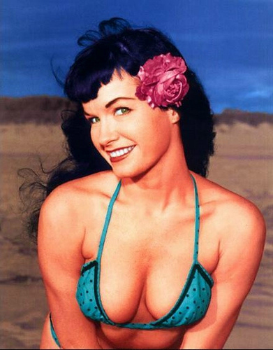 Betty Page Photos: Bettie Page: A Fashion Inspiration