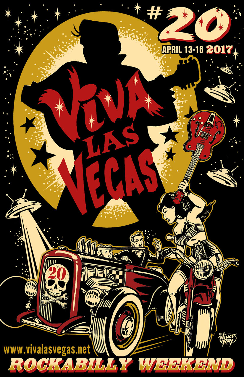 Viva Las Vegas Rockabilly Weekend 2017 Bettie Page