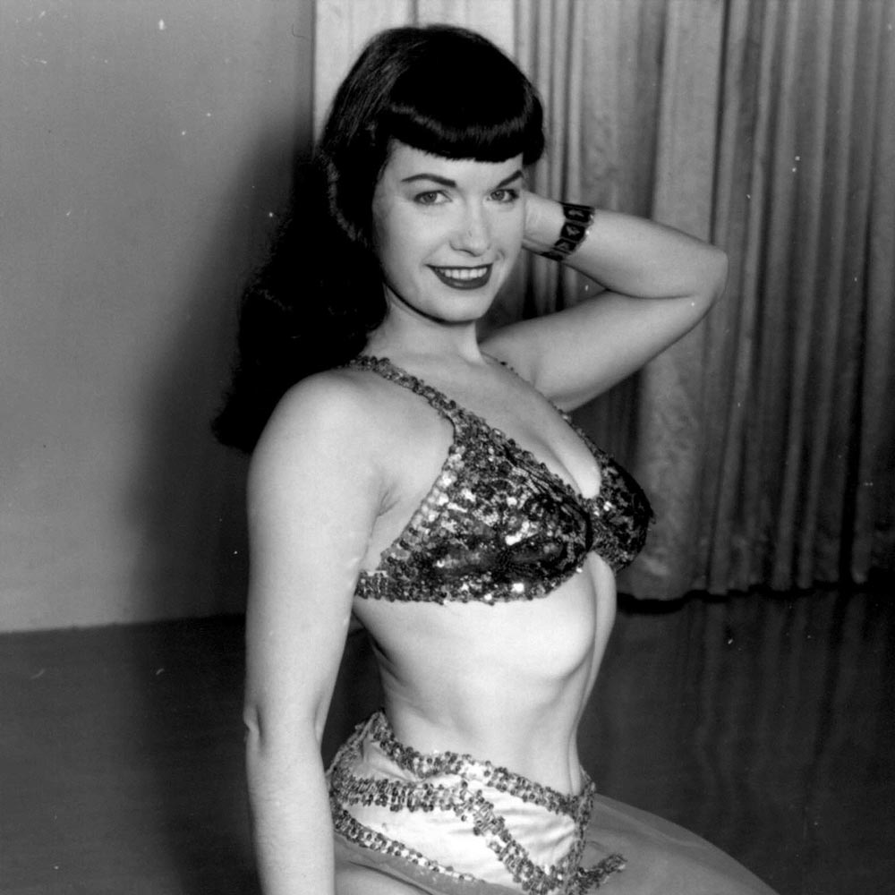 Betty Page Photos: The Official Webstore For Bettie Page Licensed Products