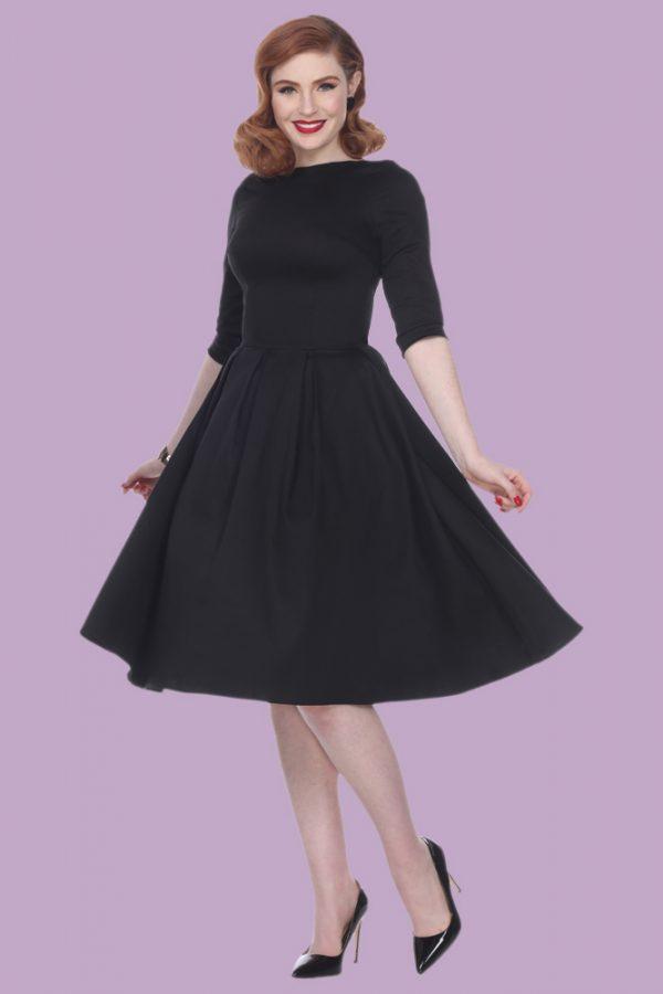 bc3dacdd152d Tiffany Dress (Black) by Bettie Page